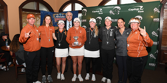Texas women's golf won in New Orleans (Photo by Parker Waters)