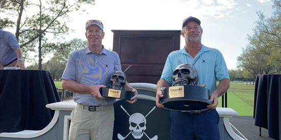 Gasparilla winners Bob Royak and Mike Finster (Courtesy Gasparilla Invitational)