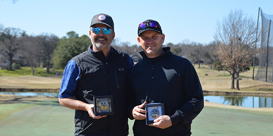 The Texas North Four-Ball winners (Texas Golf Association photo)