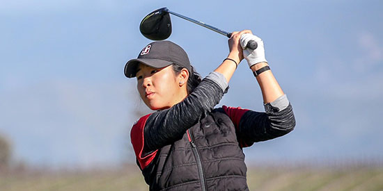 Andrea Lee was clutch down the stretch for the Cardinal (Stanford photo)