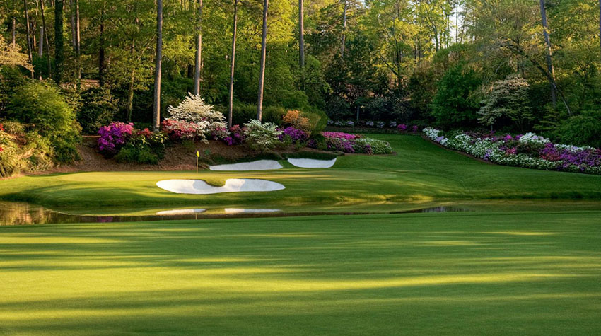 The 12th will present its usual daunting challenge at the Augusta National Women's Amateur (Pinterest photo)