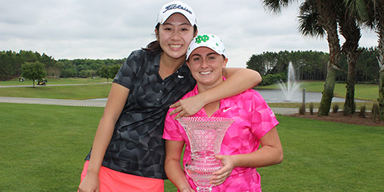 Ariel Yu and Chloe Schiavone (FSGA photo)