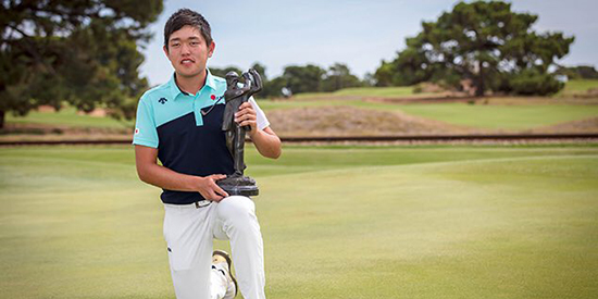 Ren Yonezawa (Golf Australia photo)