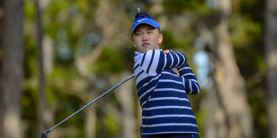 Lucy Li WD's from Augusta National Women's Am, citing injury