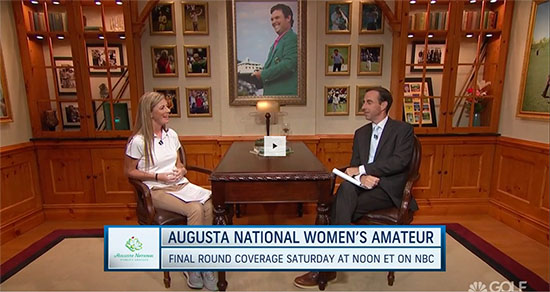 Watch AGC's Julie Williams on Golf Channel's Morning Drive