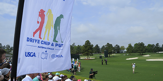 Drive, Chip and Putt Sunday at Augusta National (Augusta National photo)