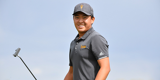Chun-An Yu (Arizona State Athletics photo)