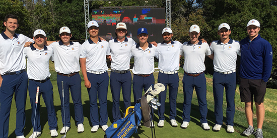 San Jose State hosts the Western Intercollegiate at Pasatiempo (SJSU Athletics photo)