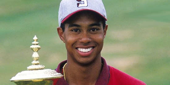 Tiger Woods the amateur (USGA photo)