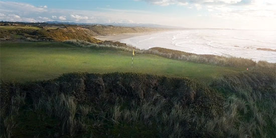 Bally Bandon Sheep Ranch Green Site (Bandon Dunes photo)