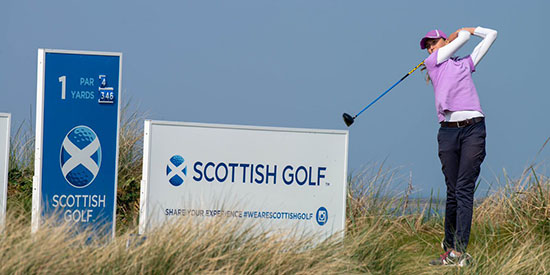 Pia Babnik (Scottish Golf/Twitter photo)
