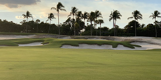 No. 14 at Seminole Golf Club (Photo courtesy Seminole GC)