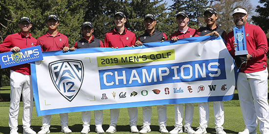 Stanford won the Pac-12 team title (Oregon Athletics photo)