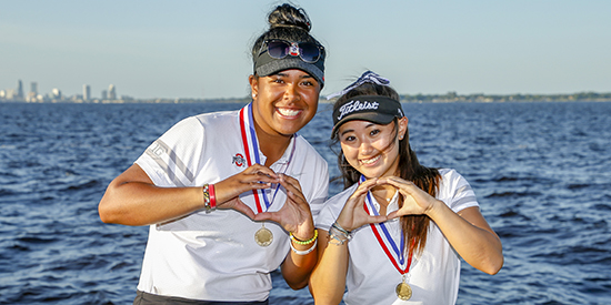 Anneka Seumanutafa and Faith Choi (USGA photo)