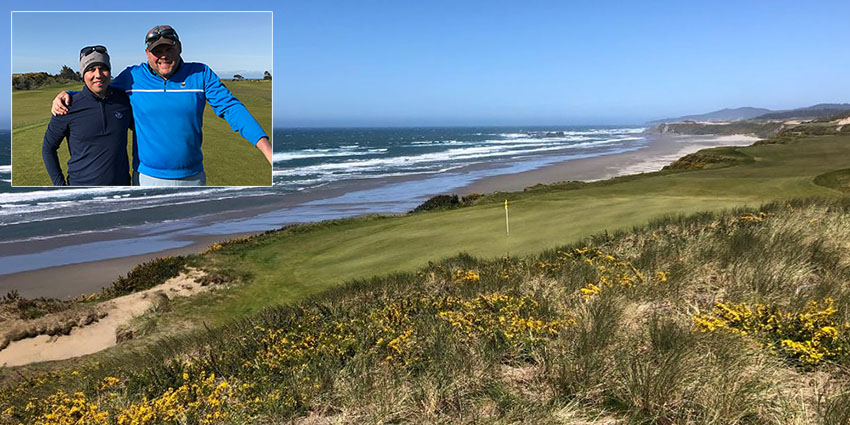 Jason Johnstone and Jason Bell prevailed after a beautiful weekend at Bandon Dunes Golf Resort (AGC photo)