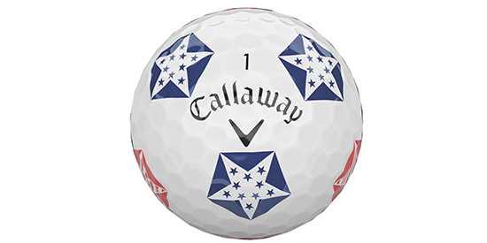 Callaway goes patriotic with Chrome Soft Truvis Stars & Stripes