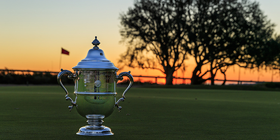 The U.S. Women's Open trophy (USGA/John Mummert photo)