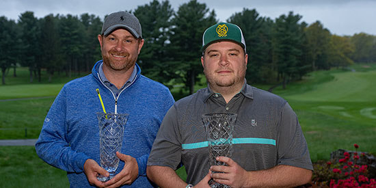 Mike Calef and Nick Maccario (David Colt/Mass Golf photo)