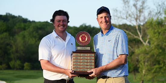 Nathan Smith and Will Knapp (PGA photo)