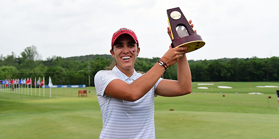 Maria Fassi (Walt Beazley, Razorbacks Athletics Communications)