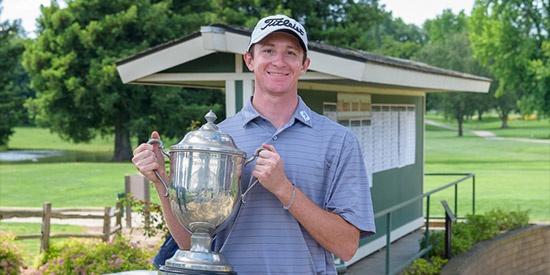 A-10 champ Lowe pulls away for a 5-shot Memorial Amateur win