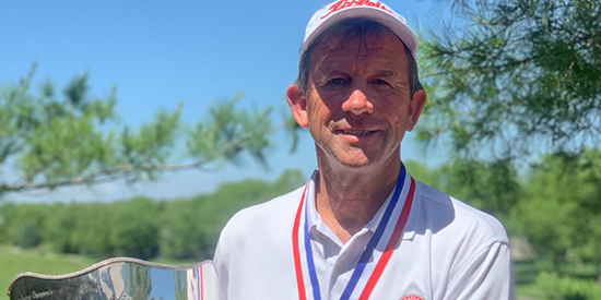 John Sajevic (Nebraska Golf Association/Twitter photo)