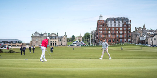 St. Andrews Links/Twitter photo