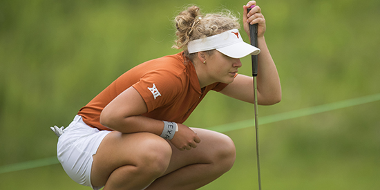 Sara Kouskova (Patrick Meredith / Texas Athletics)
