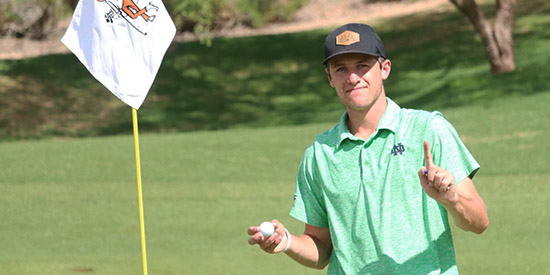 Hole-in-one sparks Ostrom to Southwestern Amateur lead