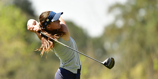 Linn Grant during the Augusta National Women's Amateur (ANWA photo)