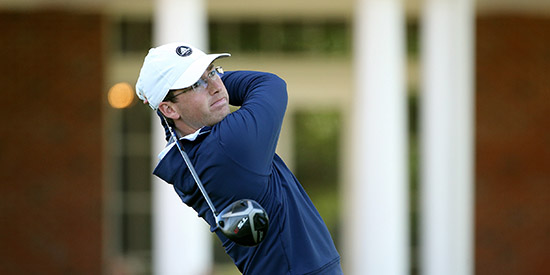 In brutal wind, Ogletree posts lone sub par round for Monroe lead