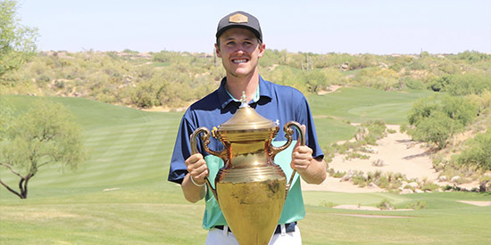 Ostrom flashes his mental toughness in Southwestern Amateur win
