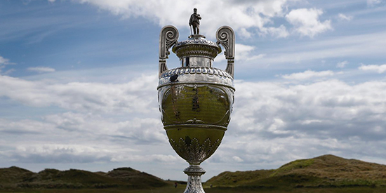 The Amateur Championship trophy (R&A/Twitter photo)