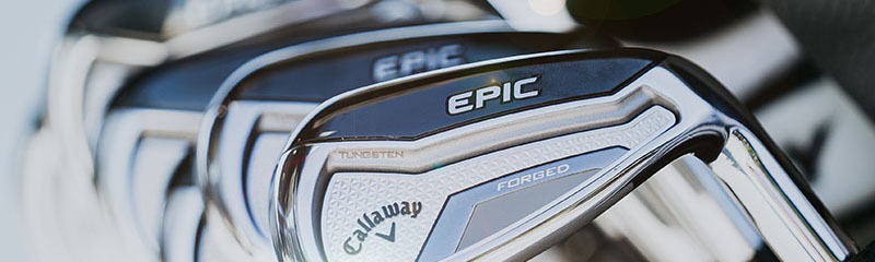 The Callaway Epic Forged Irons