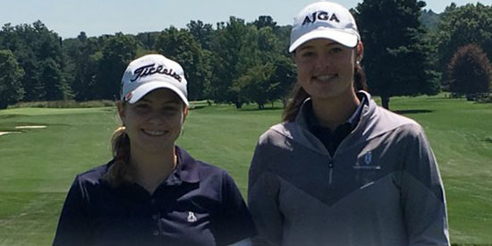 Angela Garvin and Anne Walsh (Mass Golf/Twitter photo)