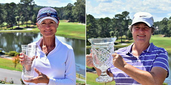 Bobbie Suttler and Deb Jackson (GSGA/Twitter photo)