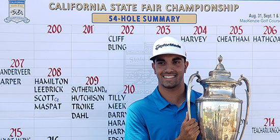Bling defends California State Fair title in playoff