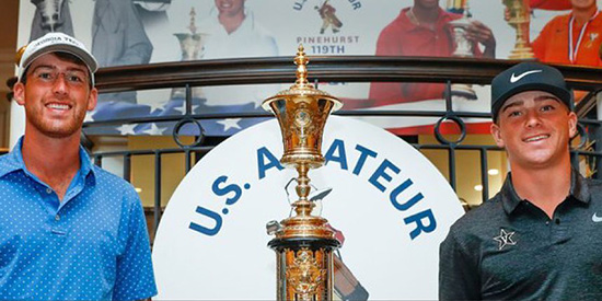 Andy Ogletree and John Augenstein (USGA photo)