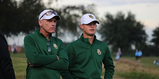 Mike McGraw and Cooper Dossey (Baylor Athletics)