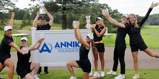 Wake Forest's women's golf team (Annika Foundation photo)