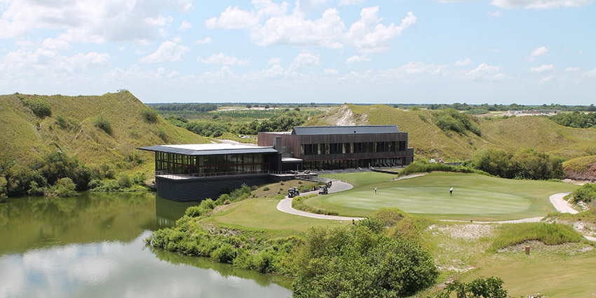The clubhouse at Streamsong (AGC photo)