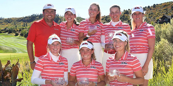 Ole Miss women's golf (Ole Miss Athletics/Twitter photo)