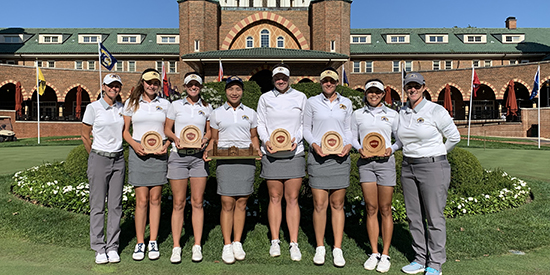 Kent State's winning squad (Kent State Athletics photo)