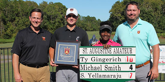 Gingerich completes wire-to-wire St. Augustine Amateur win