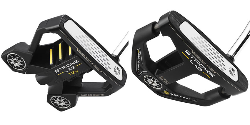 Odyssey releases new Stroke Lab Ten Black, Bird of Prey putters