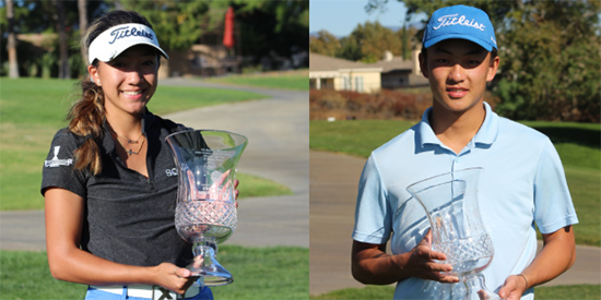 Zoe Campos and Ray Xiong (SCGA photo)