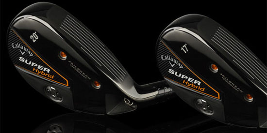 Callaway puts the power of a fairway wood into its Super Hybrid