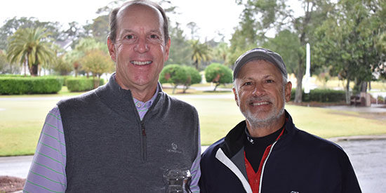 Bob Royak (L) and Doug Hanzel (GSGA photo)