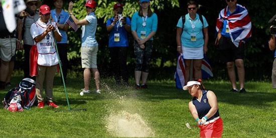 Mariel Galdiano will be trying to make her third Curtis Cup team (USGA photo)