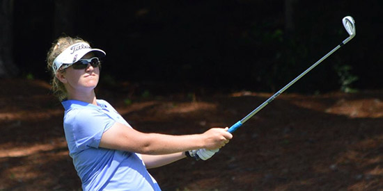 Schuster continues rise, leads by three at the Women's Dixie